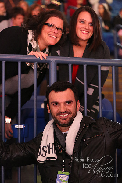 Tony Dovolani with fans