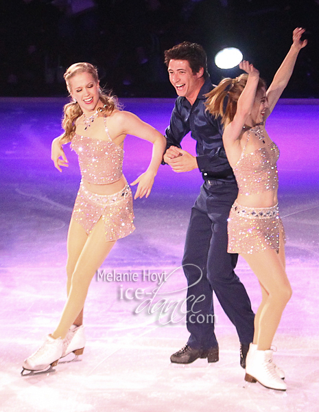 Kaitlyn Weaver, Scott Moir, and Ashley Wagner