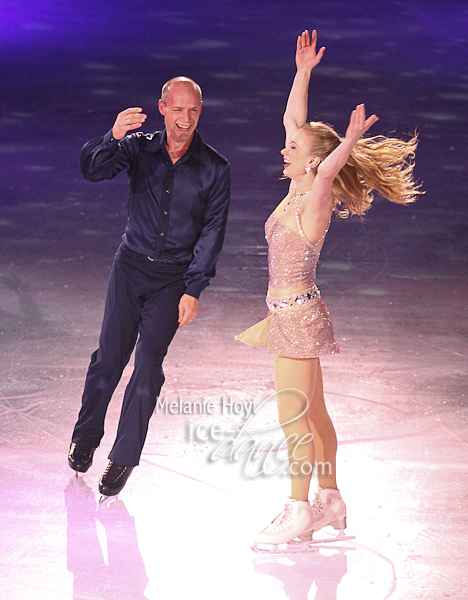 Kurt Browning and Joannie Rochette