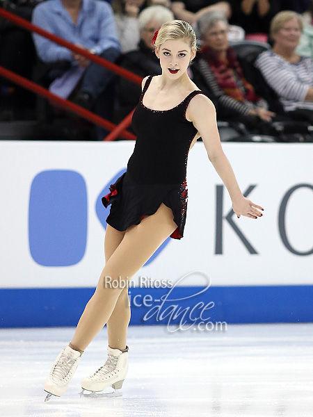Ladies Group 1 - Gracie Gold (USA / Team North America)