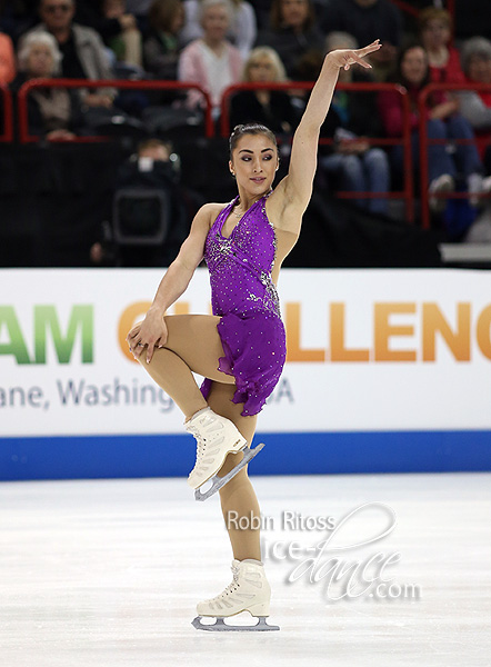 Ladies Group 2 - Gabrielle Daleman (CAN / Team North America)