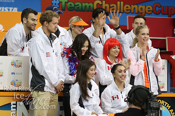 Ladies Group 2 - Gabrielle Daleman waits for her score
