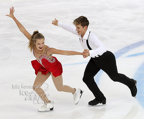Christina Carreira & Anthony Ponomarenko (USA)
