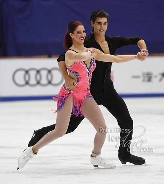 Elliana Pogrebinsky & Alex Benoit (USA)