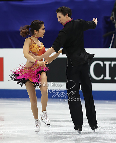 Kana Muramoto & Chris Reed (JPN)