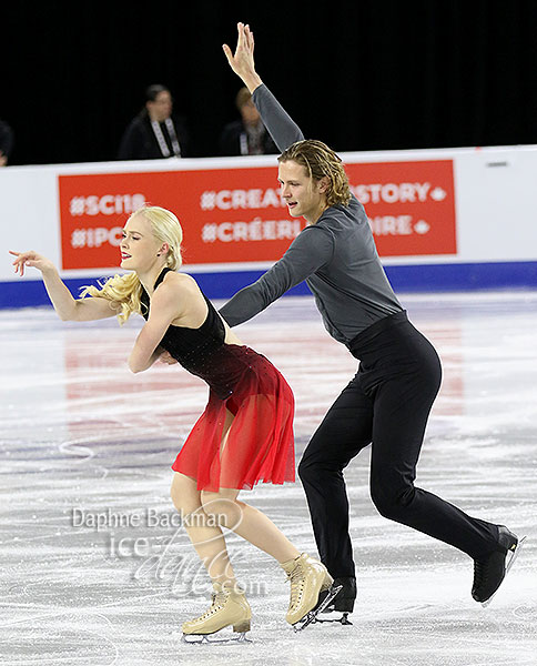 Haley Sales & Nikolas Wamsteeker (CAN)